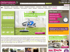 code promotion delamaison reduction avantage 2015 code promo boutique e commerce france. Black Bedroom Furniture Sets. Home Design Ideas