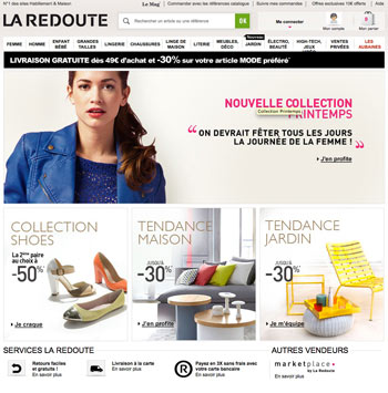 code reduction la redoute