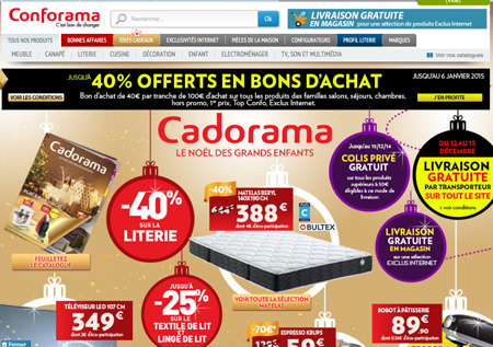 code promo conforama remise soldes 2015. Black Bedroom Furniture Sets. Home Design Ideas